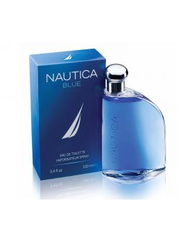 Nautica Blue Eau De Toilette Spray for Men, 3.4 Fl Oz with Package