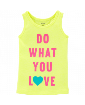 Carter's Neon Do What You Love Tank