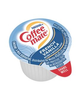 Nestle Coffee-mate Coffee Creamer, French Vanilla. Box of 50