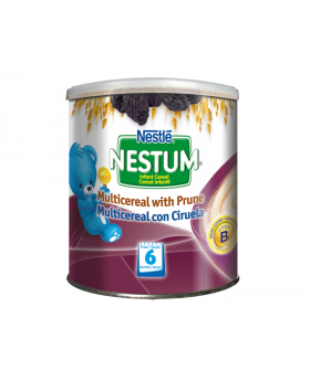 NESTUM BIFIDUS BL Infant Cereal Stage 2 (From 6 months) Oat and Prune 270g Canister