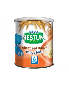 NESTUM BIFIDUS BL Infant Cereal Stage 2 (From 6 months) Wheat and Honey 270g Canister