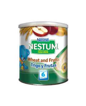 NESTUM BIFIDUS BL Infant Cereal Stage 3 (From 8 months) Wheat and Fruits 270g Canister