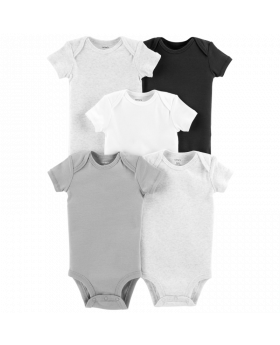 Carter's 5-Pack Neutral Bodysuits