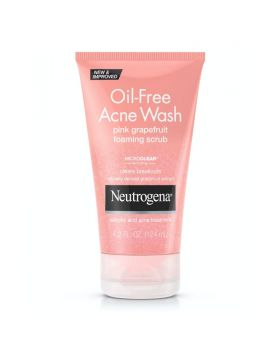 Neutrogena Oil Free Acne Wash Pink Grapefruit Facial Scrub