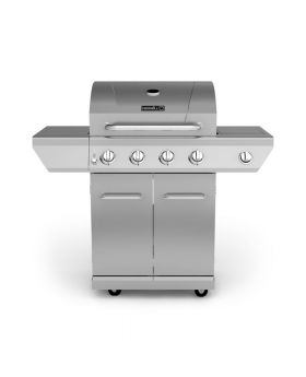 Nexgrill 4-Burner Propane Gas Grill with Stainless Steel Side Burner