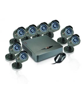 Nexxt Connectivity Xpy8008 - High definition 8 channel surveillance system