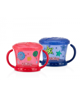 Nuby Printed Snack Keepers 2-Pack
