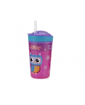 Nuby Snack N' Sip 2 in 1 Snack and Drink Cup