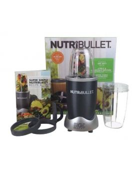 8-piece Grey Magic Nutribullet- full set