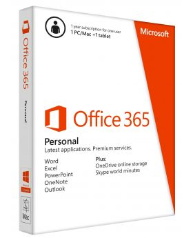 Office 365 Personal - Annual Subscription