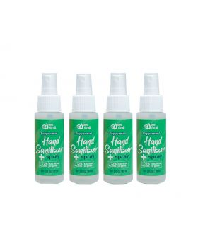 OneForAll Instant Hand Sanitizer Spray: Peppermint, 2oz, 4 Count