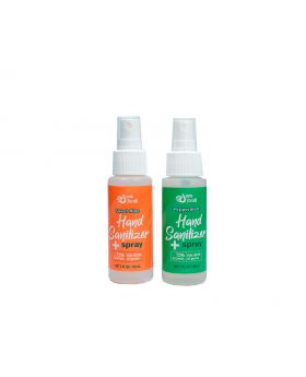 OneForAll Instant Hand Sanitizer Spray: Sweet Aloe/Peppermint, 2oz, 2 Count
