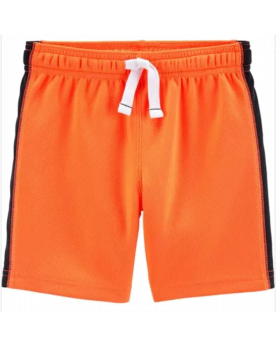 Carter's Active Mesh Shorts - Orange