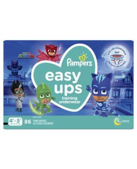Pampers Easy Ups Boys' Training Underwear 4T-5T 86 Count