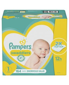 Pampers Swaddlers Size 1 164 Count