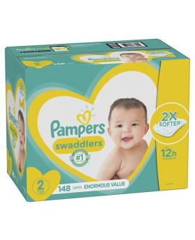 Pampers Swaddlers Size 2 148 Count
