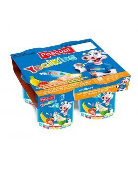 Pascual YogiKids Yogurt 125g Assorted 8 Pack