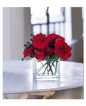 Passionate Reds Floral Arrangement