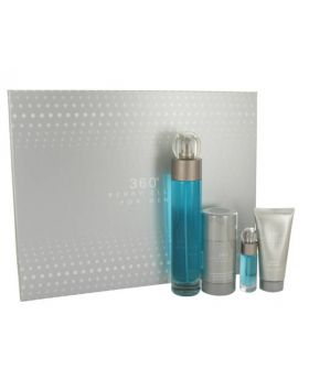 Perry Ellis 360 for Men-4 Piece Gift Set with different pieces