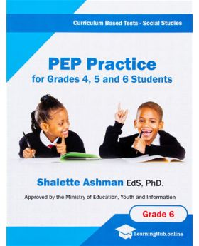 PEP Practice Social Studies Test For Grade 4 5 and 6 Students Curriculum Base Test by Shalette Ashman