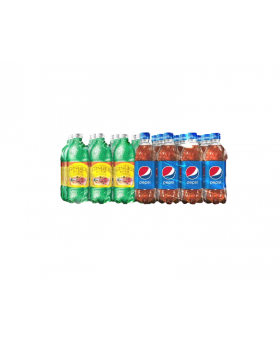 Pepsi & Ginger Beer Mixed Case 20 oz  24 Case