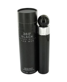 Perry Ellis 360 Black 3.4 Fl. Oz.  Eau De Toilette Sp Men