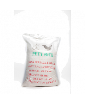 Pet Rice Broken White Rice 10 kg