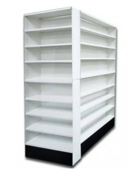 Pharmacy Shelves - Aisle Unit