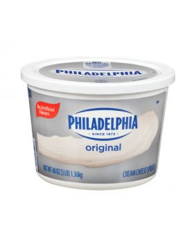 Philadelphia Cream Cheese 30 lbs