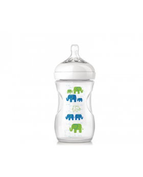 Philips Avent Natural Elephant Bottle 9oz