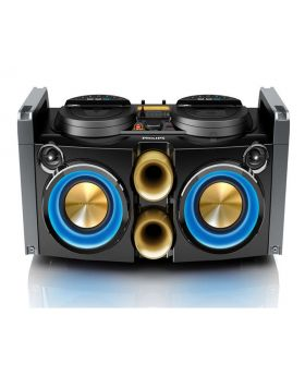 Philips Party Machine Mini Hi-Fi System with DJ Mixer