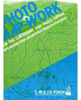 Photo Map-work for the Caribbean by E.M. Poxon