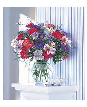 Pink and Purple Inspiration Floral Arrangement