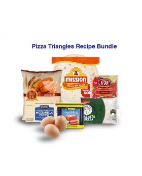 Pizza triangles Recipe Bundle