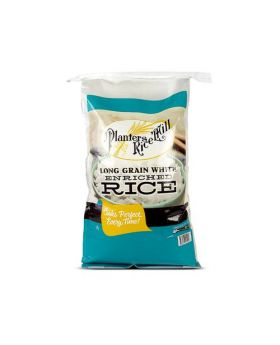 Planters Rice Mill Long Grain White Enriched Rice 50 lb