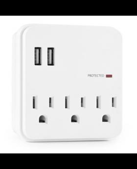 Wall Plug with USB