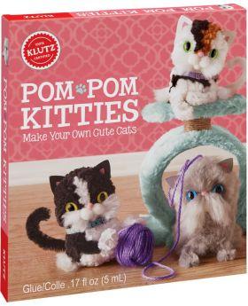 KLUTZ Pom-Pom Kitties: Make Your Own Cute Cats