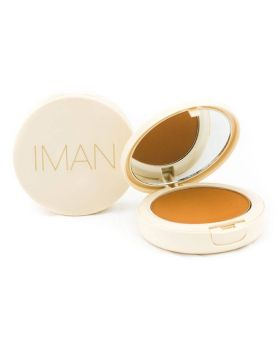 IMAN Oil-Blotting Pressed Powder, Medium