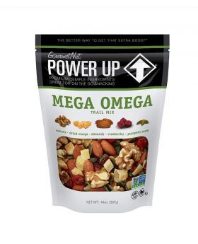 Power Up Mega Omega Trail Mix Gourmet Nuts