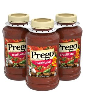 Prego Traditional Pasta Sauce 45 Oz. 3 Pack