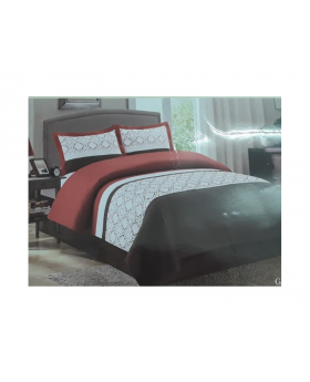 Private Collection 4 Pieces King Comforter Set- Emboidery