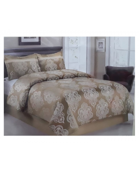 Private Collection 4 Pieces Queen Comforter Set-Jacquard