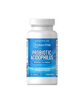 Probiotic Acidophilus Puritan's Pride 100 Tablets