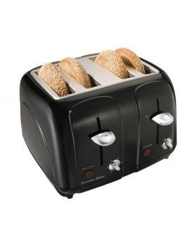 Proctor Silex Black 4 Slice Toaster