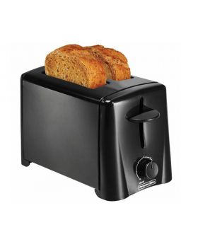 Proctor Silex Black 2 Slice Toaster
