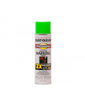 Professional Inverted Marking Spray Paint - Fluorescent Green 2 Pack