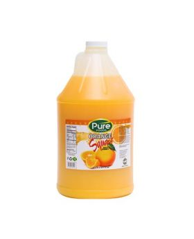 Pure Syrup Orange Squash 1gal