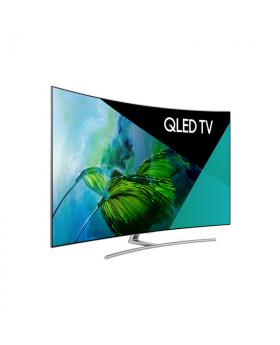 """Samsung Smart TV 55"""" QLED Curved TV"""