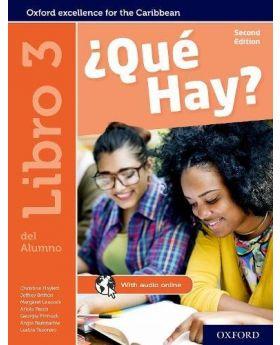 ?Que Hay?: Libro del Alumno 3 by Christine Haylett, Jeffrey Britton, Margaret Leacock