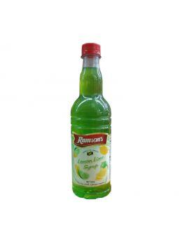 Ranson's Syrup Lemon Lime 750ml